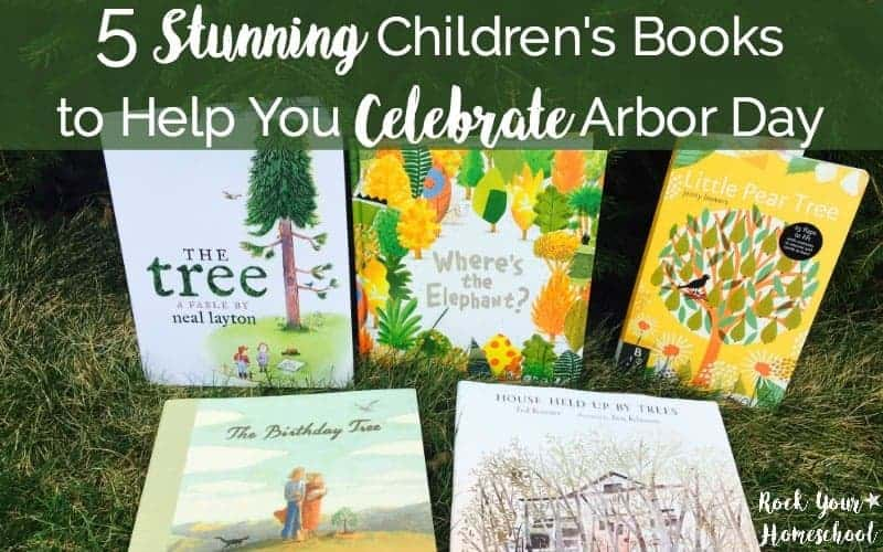 These five books from Candlewick Press are wonderful additions to your family library. With tree themes, these books will help you celebrate Arbor Day with your kids.