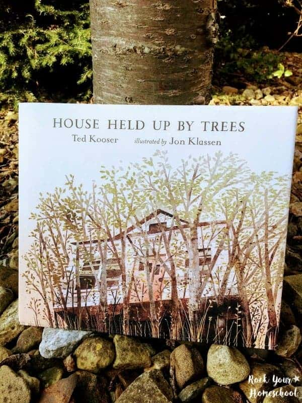 House Held Up By Trees, a book from Candlewick Press, is a wonderful resource to help you celebrate Arbor Day.