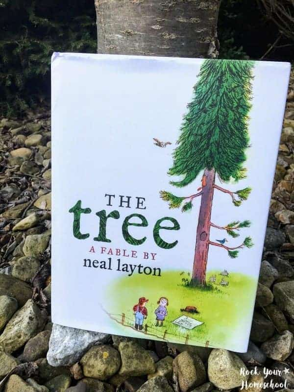 The Tree: An Environmental Fable is a wonderful book from Candlewick Press that will be a terrific addition to your Arbor Day celebration.