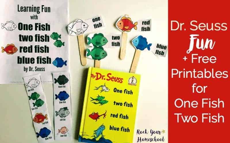 picture about One Fish Two Fish Printable named Dr. Seuss Enjoyment + Absolutely free Printables for A person Fish 2 Fish - Rock