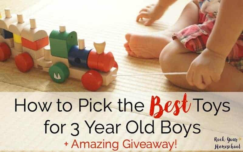 How To Pick The Best Toys For 3 Year Old Boys Amazing Giveaway