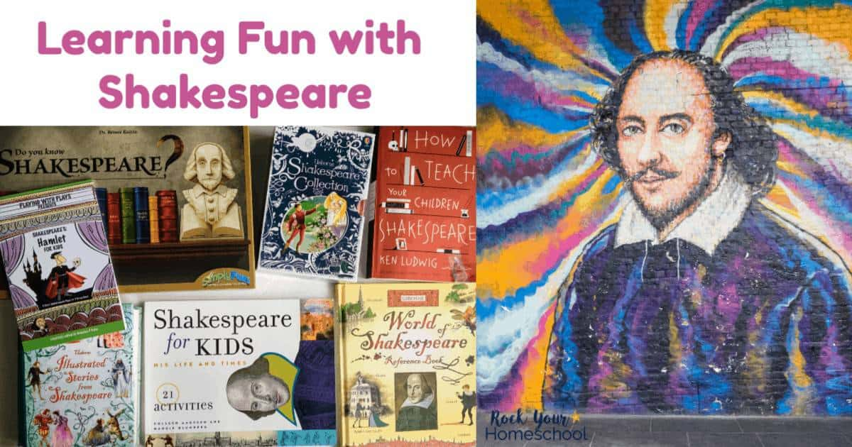 These 10 creative ways to enjoy learning fun with Shakespeare are awesome ways to introduce your kids to the Bard.