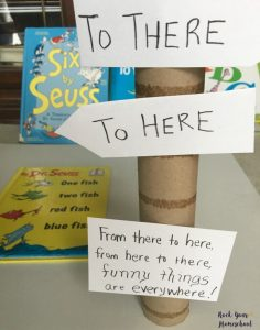 Fun & easy craft to go with this popular book by Dr. Seuss.