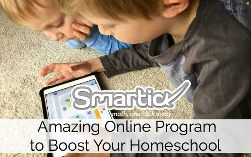 Check out this amazing online math program! Smartick has a unique approach that can help you rock your homeschool.