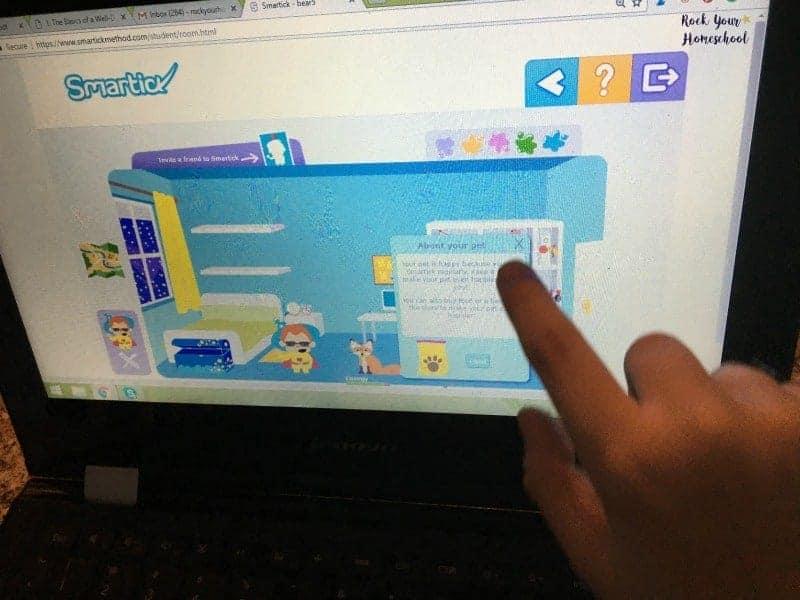 Smartick online math program helps kids develop math, logic, and reading comprehension skills.
