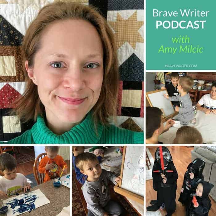Check out my Brave Writer Lifestyle Podcast interview with Julie Bogart. Find out about our family's Brave Writer Lifestyle & more!