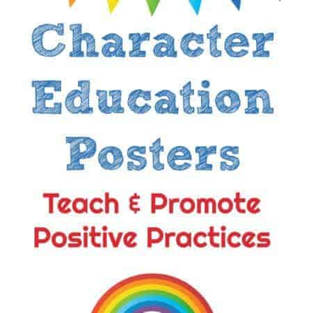 Character Education Posters cover