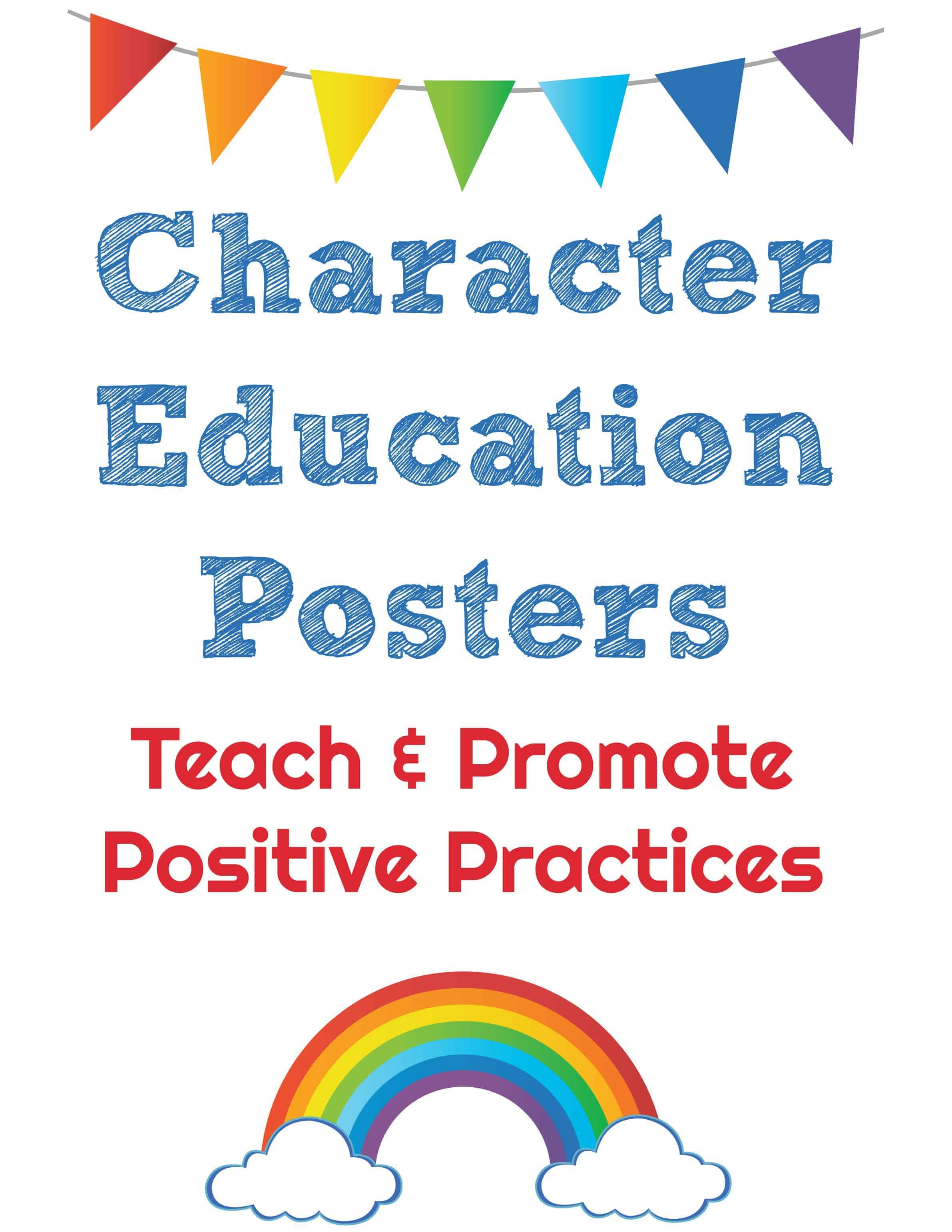 Character Education Posters - Rock Your Homeschool