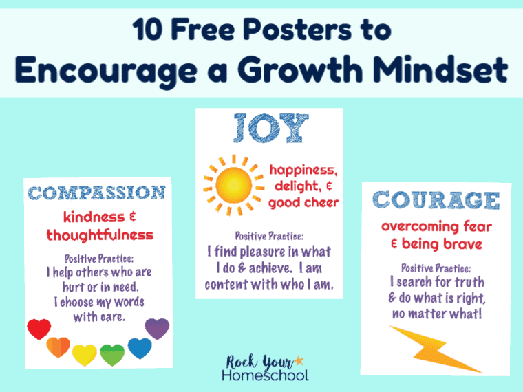 How to Use Character Education Posters to Encourage a Growth Mindset