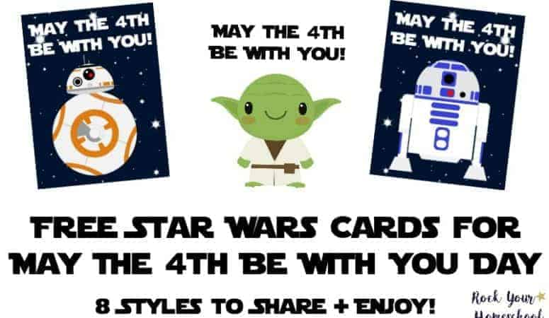 Free Star Wars Cards for May The 4th Be With You