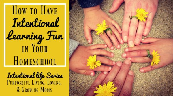 Learn tips & get inspiration on how to have intentional learning fun in your homeschool.