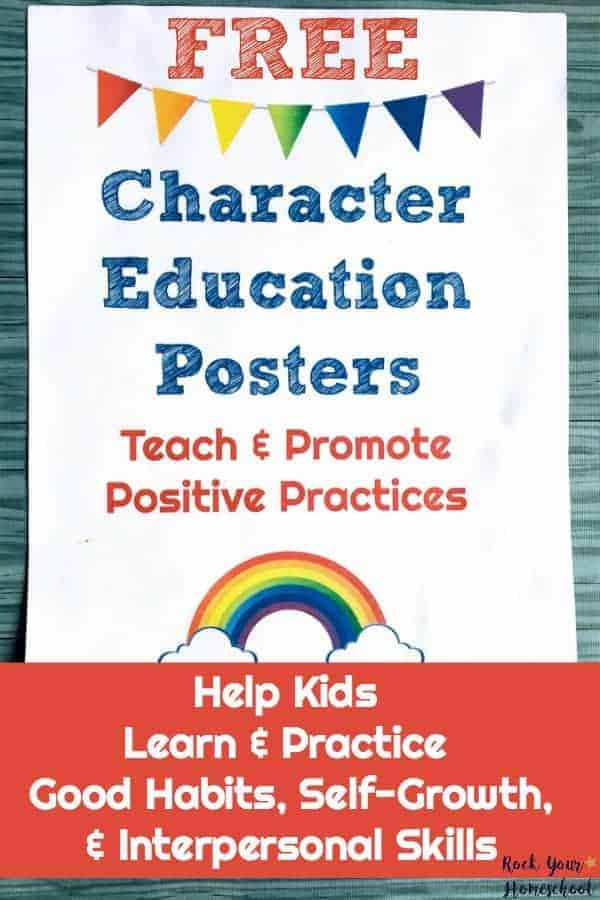 How to Use These Free Character Education Posters - Rock Your ...