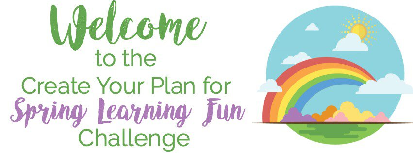 Join our FREE 3-Day Create Your Plan for Spring Learning Fun Challenge! Make realistic, customized plans to connect & create with your kids.