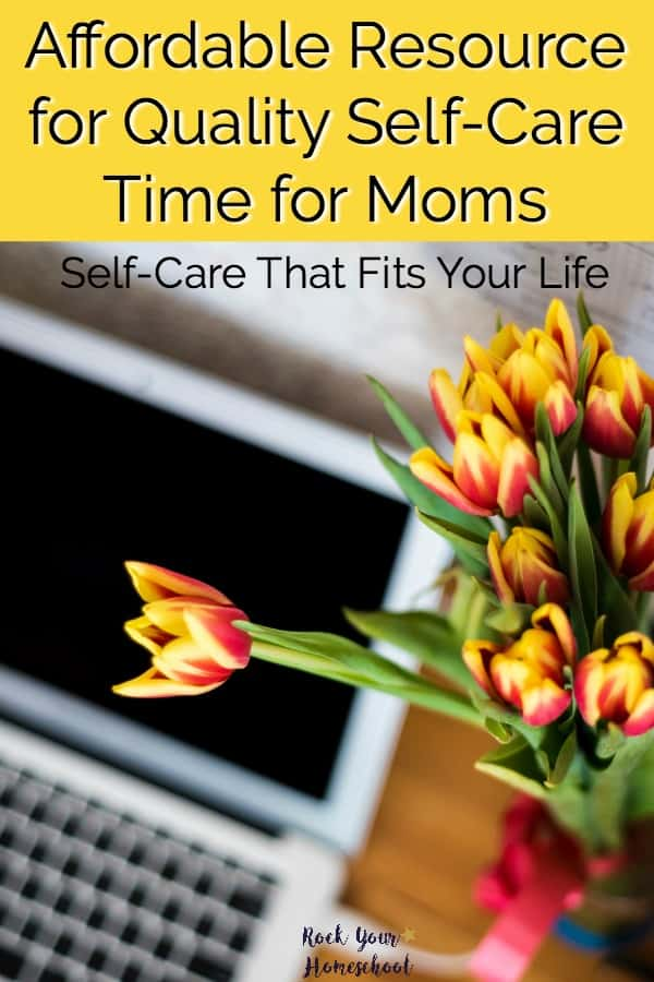 You CAN have quality self-care time as a mom! Learn why I love this affordable resource that fits my schedule & budget.