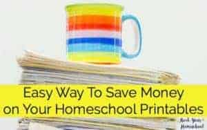 Don't let all those awesome homeschool printables sit in your downloads folder! You CAN afford to print freebies & resources for your homeschool. Find out what I am using to help me save money & provide my homeschool with helpful printables.