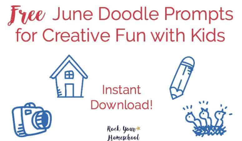 Free June Doodle Prompts for Creative Fun with Kids