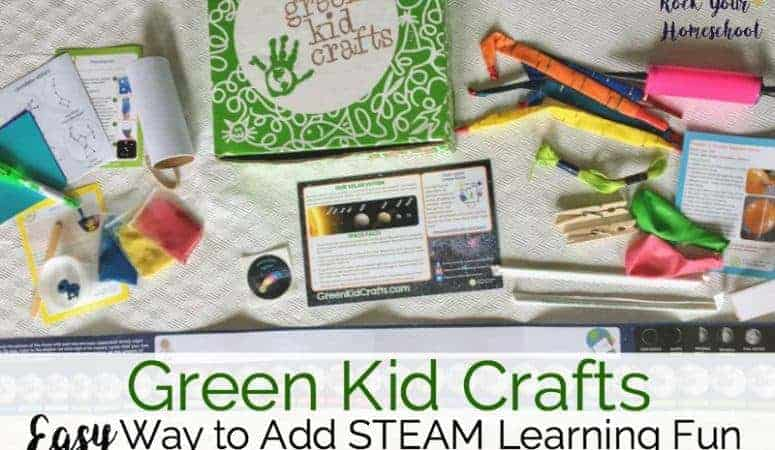 Green Kid Crafts: Easy Way to Add STEAM Learning Fun