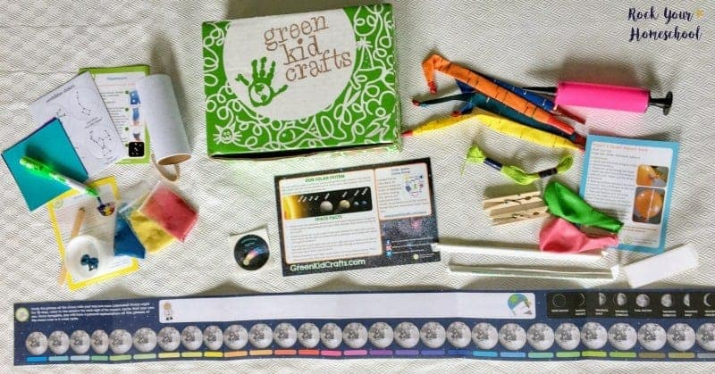 Green Kid Crafts is an easy way to add STEAM-based learning fun to your homeschool.