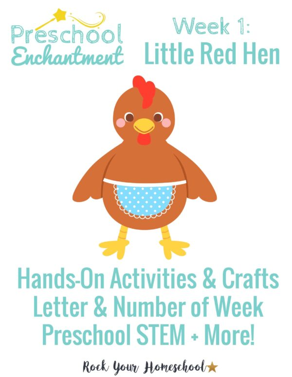 Preschool Enchantment Unit Studies are designed to help you have hands-on learning fun with your young learners.
