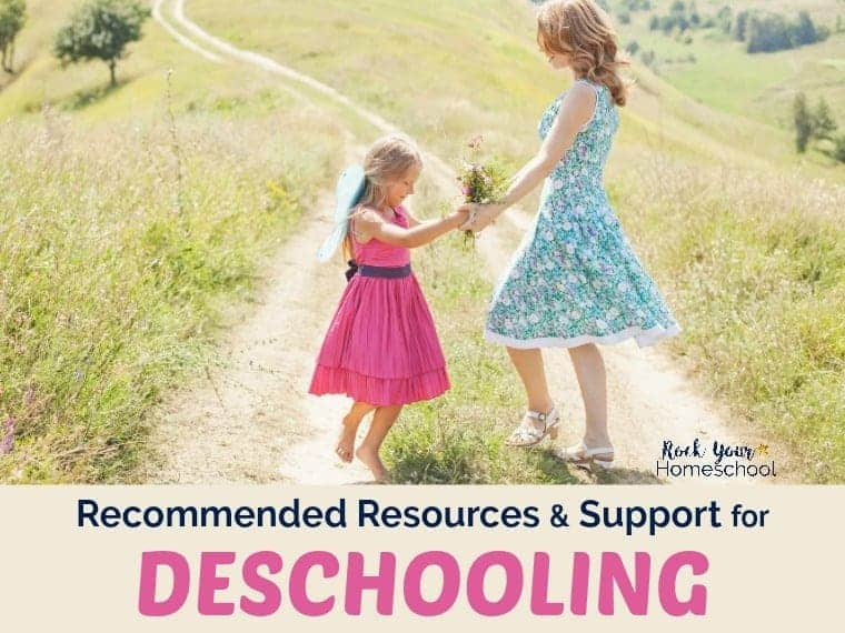Recommended Resources & Support for Deschooling