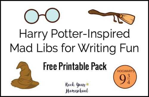 Discover a great way to connect with your kids using these free printable Harry Potter-Inspired Mad Libs for writing fun.