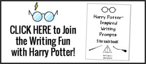 Click here to find out more about these free printable Harry Potter-Inspired writing prompts for all seven books!