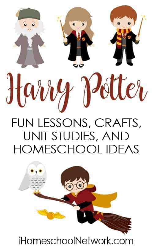 Make sure to check out all of these great ways to celebrate Harry Potter! Includes Harry Potter-inspired writing fun, lessons, & more!