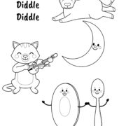 Diddle Coloring Page 16 Coloring Page - Free Diddl Coloring Pages ... | 180x180