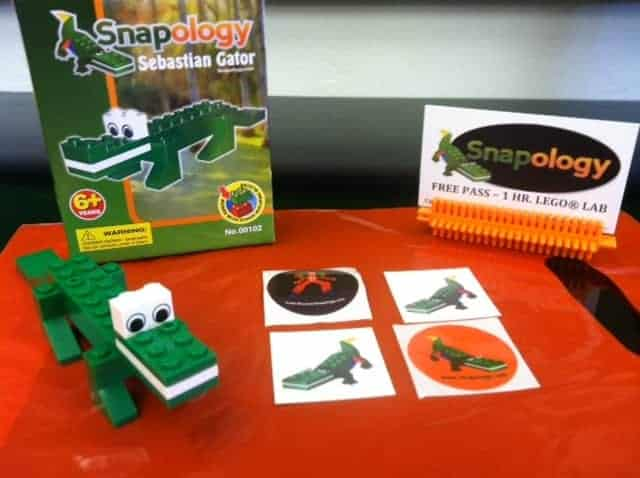 Sebastian Gator is Pittsburgh Snaplogy's mascot and prize for this STEM learning fun giveaway!