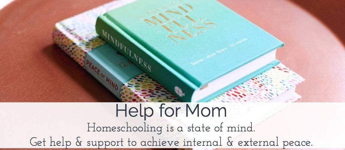 Homeschooling is a state of mind.  Get the help & support you need to achieve internal & external peace.