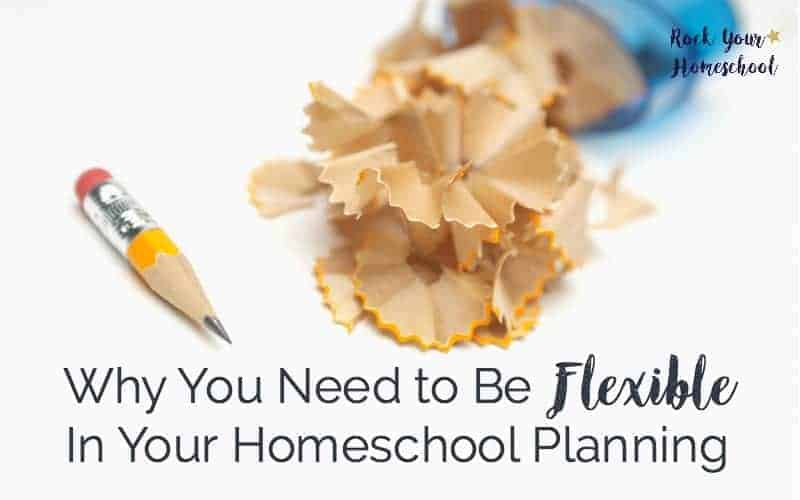 Discover my secret to effective homeschool planning that you can enjoy. Stop making it harder on yourself! Find out why you need to be flexible in your homeschool planning.