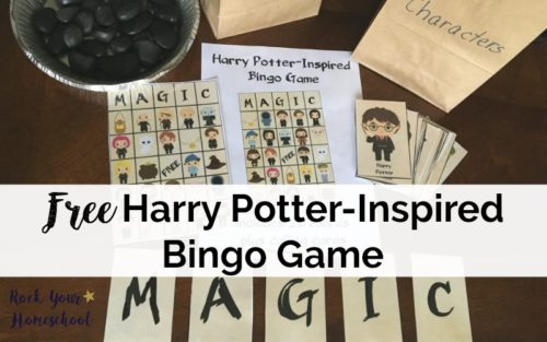 Have a blast with this free printable Harry Potter-Inspired Bingo game!