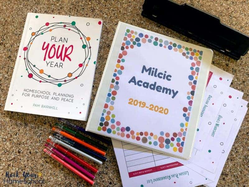 Discover how Plan Your Year can help you get the most out of your homeschool planner.