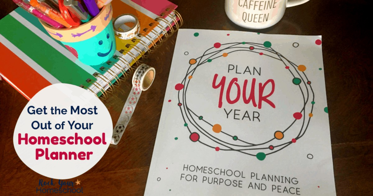 Plan Your Year and its materials will help you create a homeschool planning system you will use & enjoy.