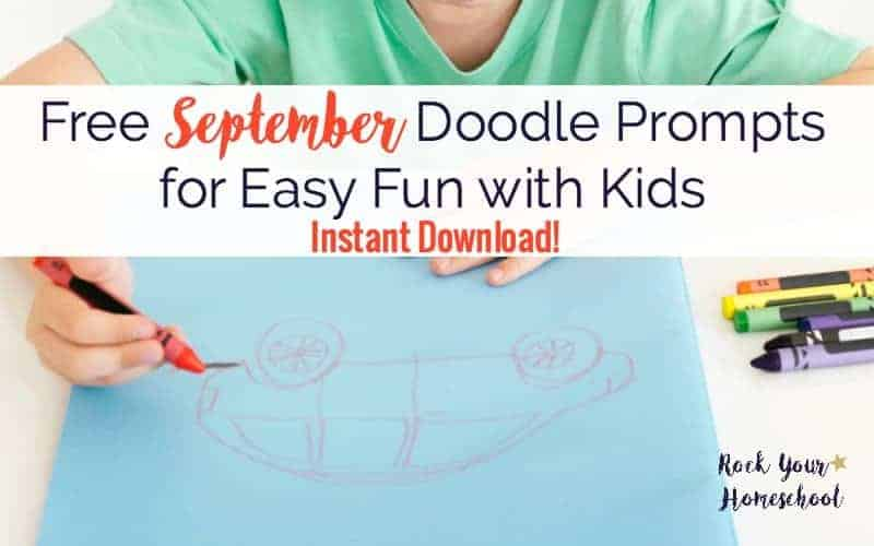 Free September Doodle Prompts for Easy Fun with Kids