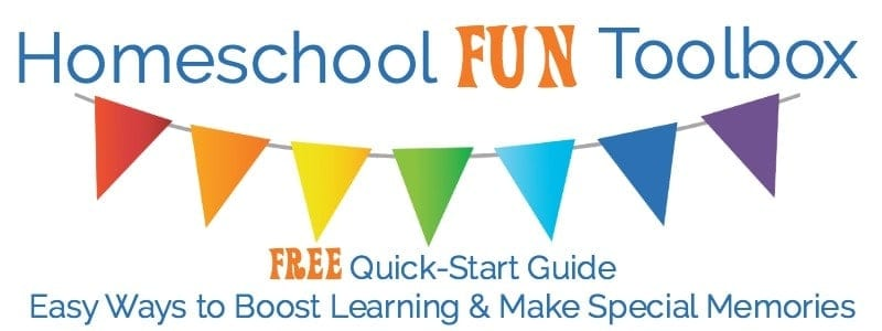 Get your free quick-start guide to building a homeschool fun toolbox today!