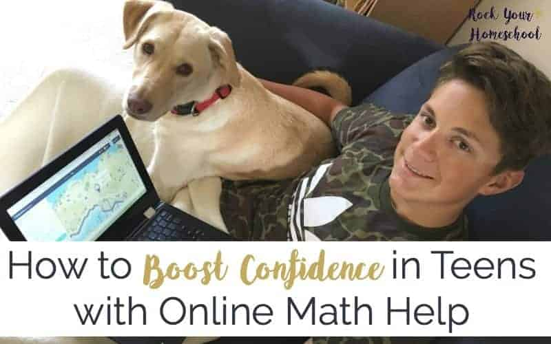 There is hope & help for boosting academic confidence in your teens with online math help sites & apps.