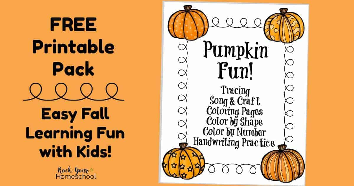 photo regarding Printable Pumpkin Pictures named No cost Printable Pack of Mastering Exciting with Pumpkins - Rock