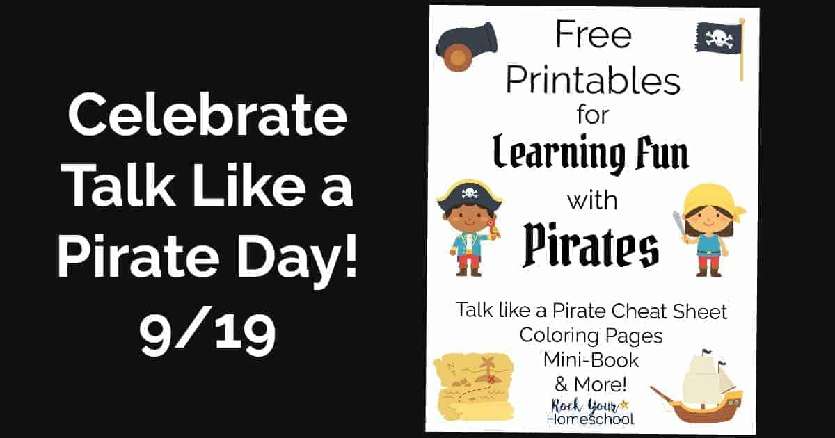 free printables for learning fun with pirates rock your homeschool
