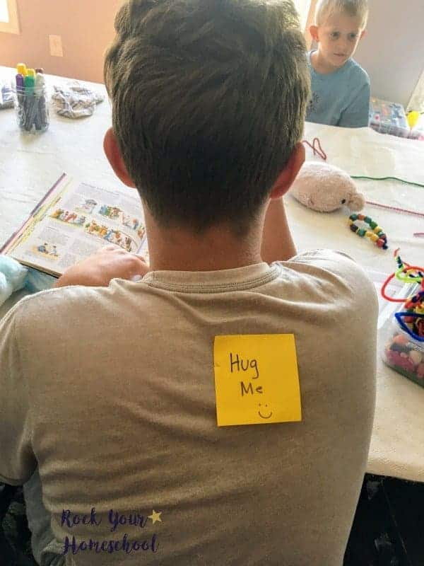 Sticky notes are fabulous ways to add easy homeschool fun to your day.
