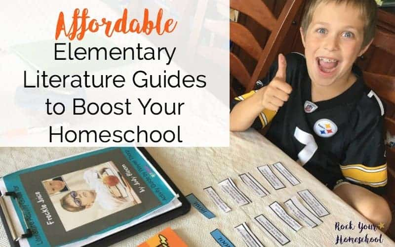Affordable Elementary Literature Guides to Boost Your Homeschool