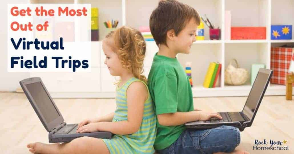 Find out how to get the most out of virtual field trips & how they can boost your homeschool adventures. Includes free printables & tips!