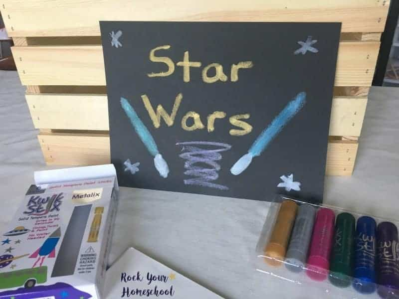 Use your Metalix Kwik Stix to create an awesome Star Wars themed poster.
