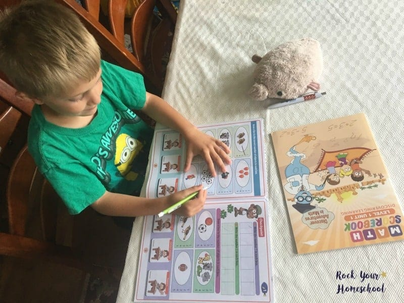 Your young learner can get extra practice with this fun math program.
