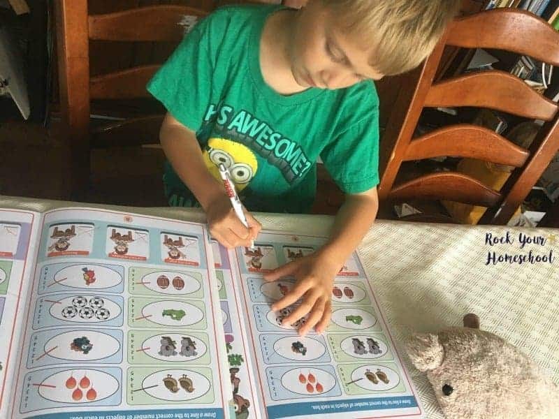 Your child will learn how to correct their own work with this fun math program.