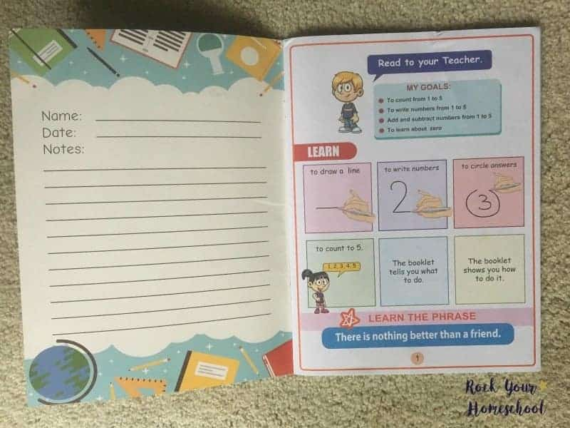Help your young learner develop positive study habits, like self-correction, with this fun math program.