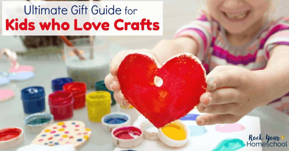 Got kids who love crafts? This ultimate gift guide for kids who love crafts will help you find a super special present.