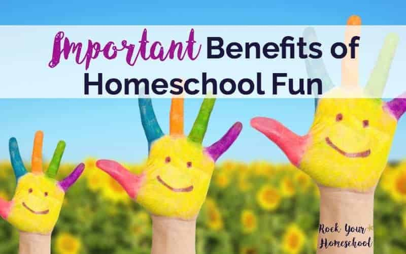 On the fence about adding fun to your homeschool? Discover why these 6 benefits of homeschool fun are so very worth it!