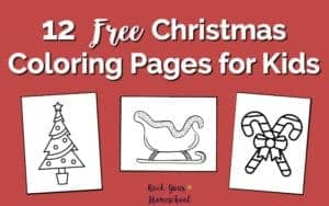 Help your kids channel all that energy & excitement into a creative outlet this holiday season with these 12 free Christmas coloring pages.