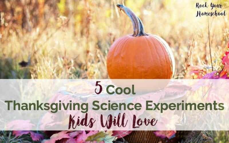 5 Cool Thanksgiving Science Experiments Kids Will Love
